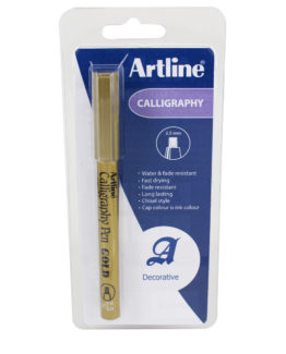 Artline 993 Calligraphy Gold New 1-Blister