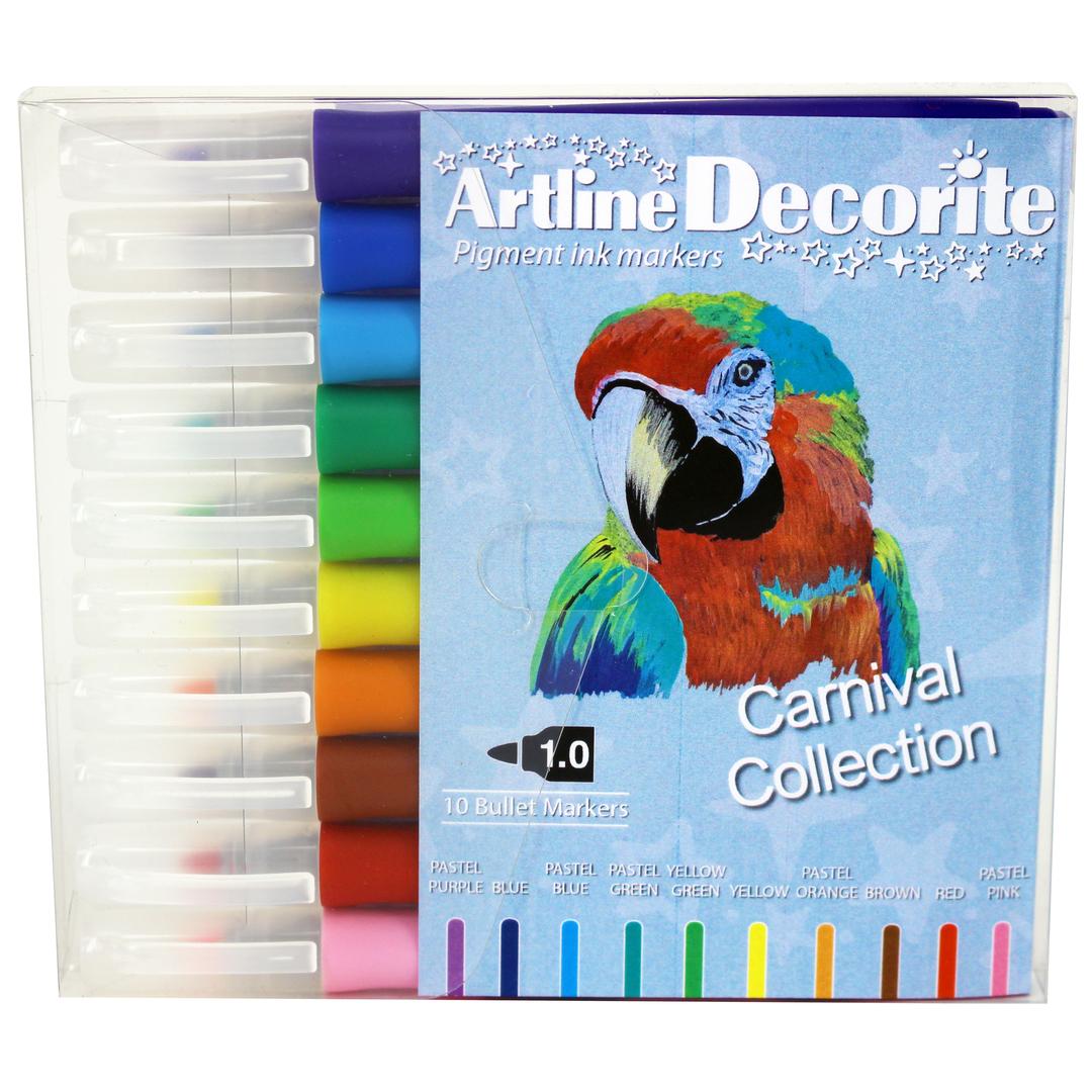 Artline Decorite bullet pastel 10-pack