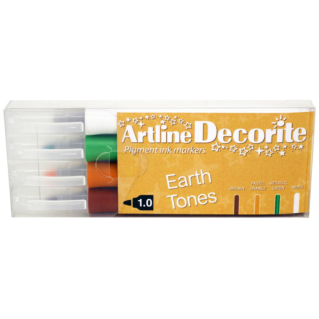 Artline Decorite bullet Earth 4-pack
