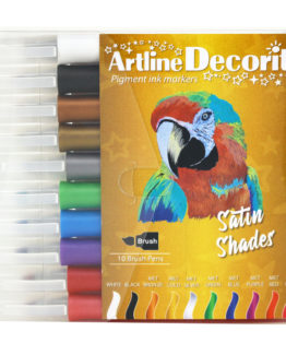 Artline Decorite brush metallic 10-pack