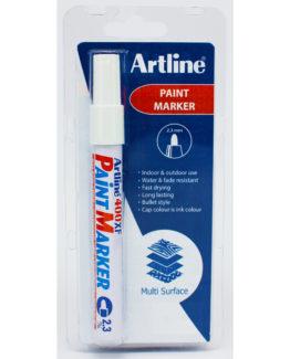 Artline 400XF 1-Blister white