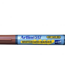 Artline 517 Whiteboard brown