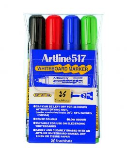 Artline 517 Whiteboard 4/set