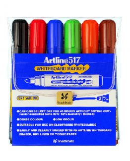 Artline 517 Whiteboard 6/set