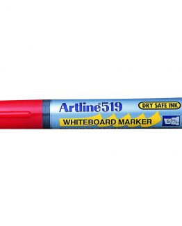 Artline 519 Whiteboard red