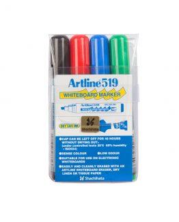 Artline 519 Whiteboard 4/set
