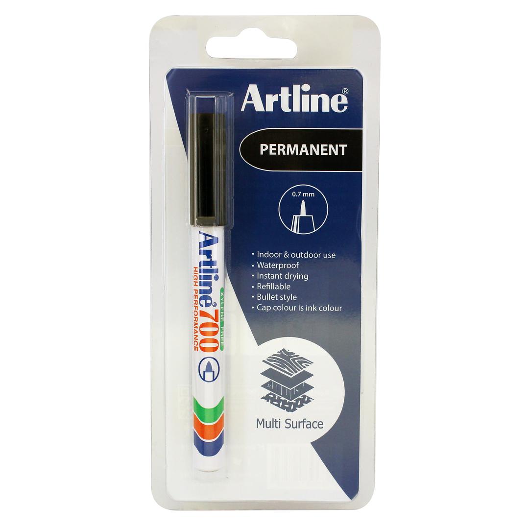 Artline 700 Permanent 1-Blister black