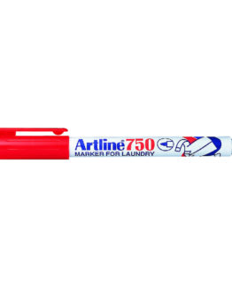 Artline 750 Laundry Marker red