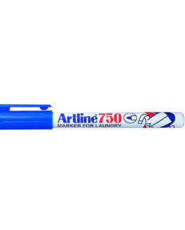 Artline 750 Laundry Marker blue