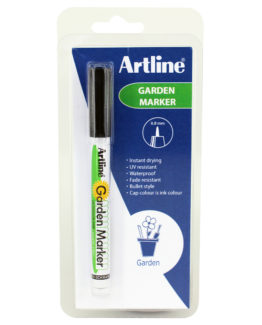 Artline 780 Garden Marker 1-clam black
