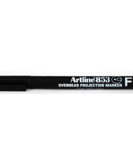 Artline 853 OHP F Permanent black