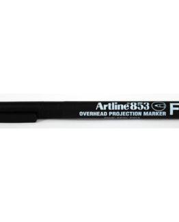 Artline 853 OHP F Permanent red