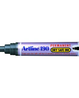 Artline 190 Dry Safe black