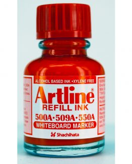 Artline refill ink Whiteboard 20ml red