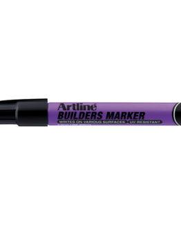 Artline builders marker black