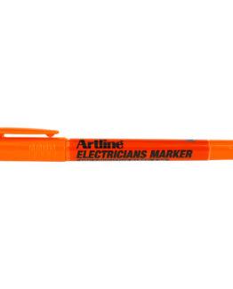 Artline electricians marker orange