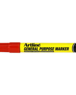 Artline general purpose marker red