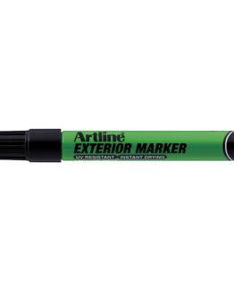 Artline exterior marker black