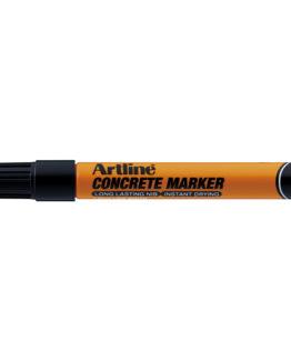 Artline concrete marker black