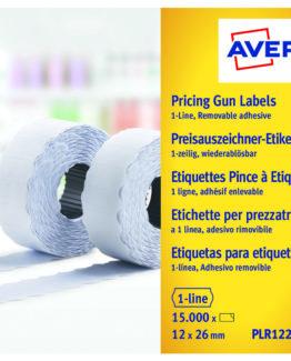 Labels 26x12 G1 White 10-rolls