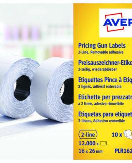 Labels 26x16 G1 White 10-rolls