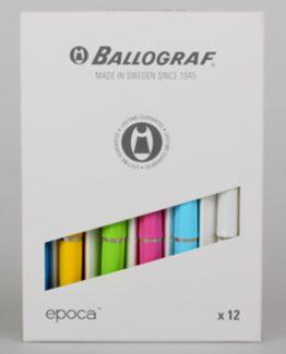 Ballograf Epoca P Ball Pen spring colours