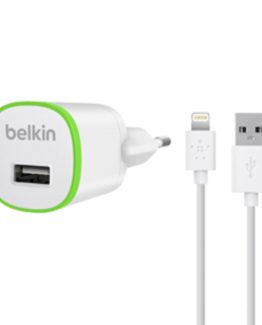 Lightning Wall Charger 1A w/Cable, White