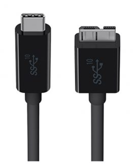 3.1 USB-C to Micro-B Cable, Black (1m)