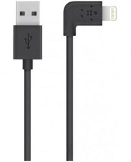 MIXIT 90° Lightning to USB Cable, Black (1,2m)