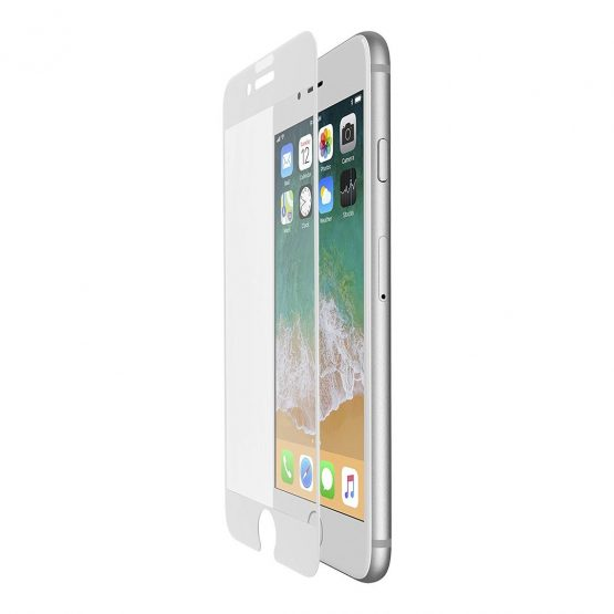 iPhone 8/7/6/6S Tempered Curve White Screen Protector