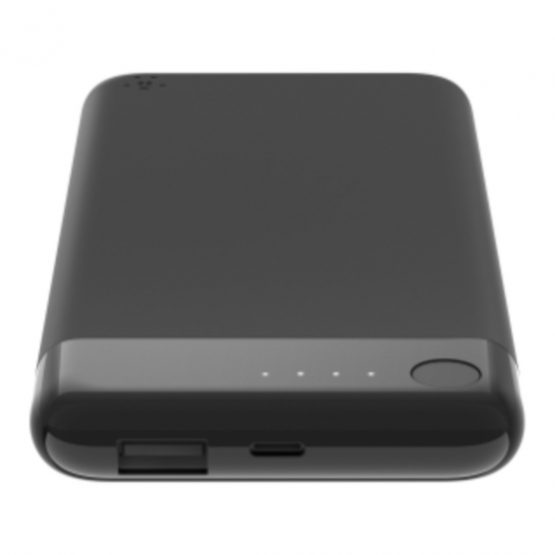 BOOST CHARGE Power Bank 5K w/Lightning, Black