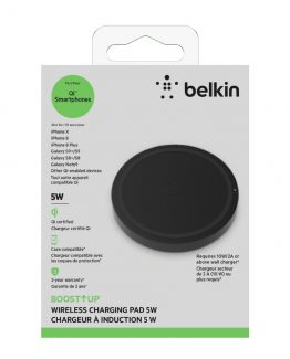 BOOST UP Qi Wireless Charging Pad 5W, Black