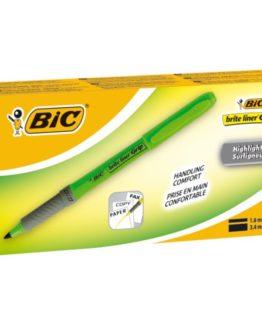 BIC Brite Liner Grip textMarker green