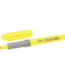 BIC Brite Liner Grip textMarker yellow