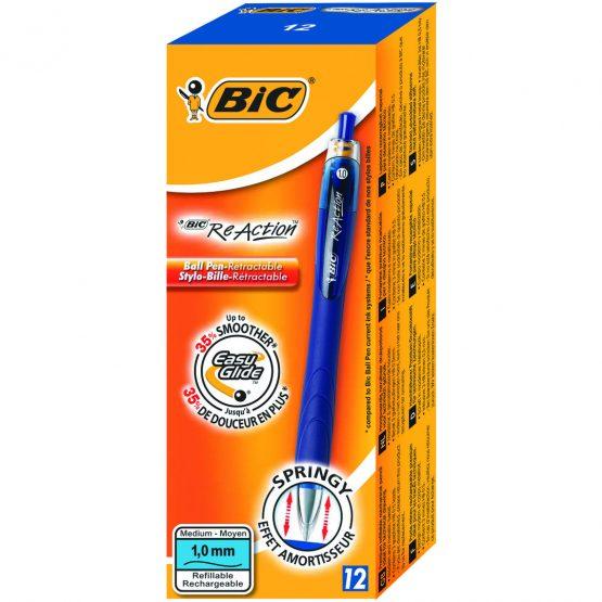 BIC ReAction Ball Pen blue