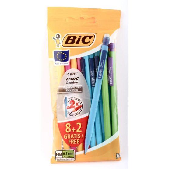 BIC Matic Combos Mechanical Pencil 8+2