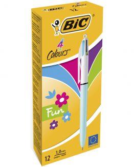 BIC 4 Colour Pen Fashion