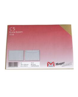 Consumer Envelope C5 gmd brown (15)