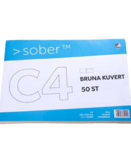 Consumerpack Envelope C4 brown 50/set