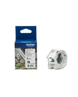 Brother CZ-1001 tape white 9mm x 5m