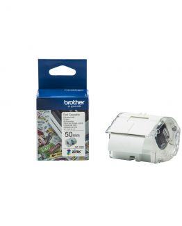 Brother CZ-1005 tape white 50mm x 5m