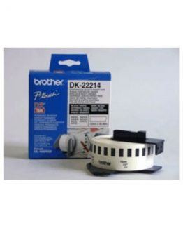Brother labels 12mmx30,48m white paper