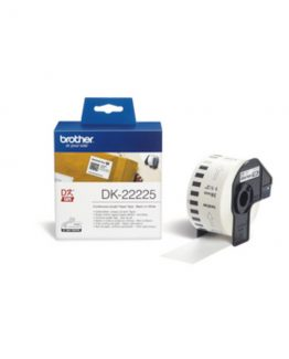 Brother labels 38mmx30,48m white paper
