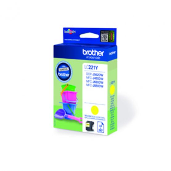 LC221Y ink cartridge yellow