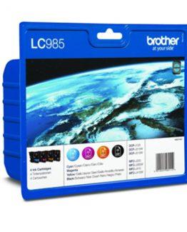 LC985V value pack ink b/c/m/y blister