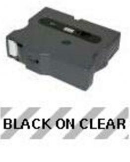 TX 18mm svart på klar