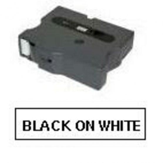 Brother TX tape 6mmX15m black/white