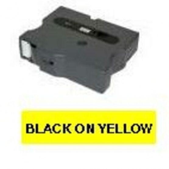 Brother TX tape 9mmx15m black/yellow