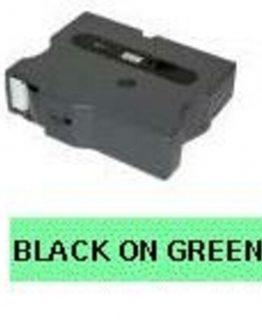 TX 24mm svart på grön