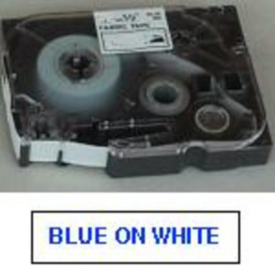Brother TZe tape 36mmx8m blue/white